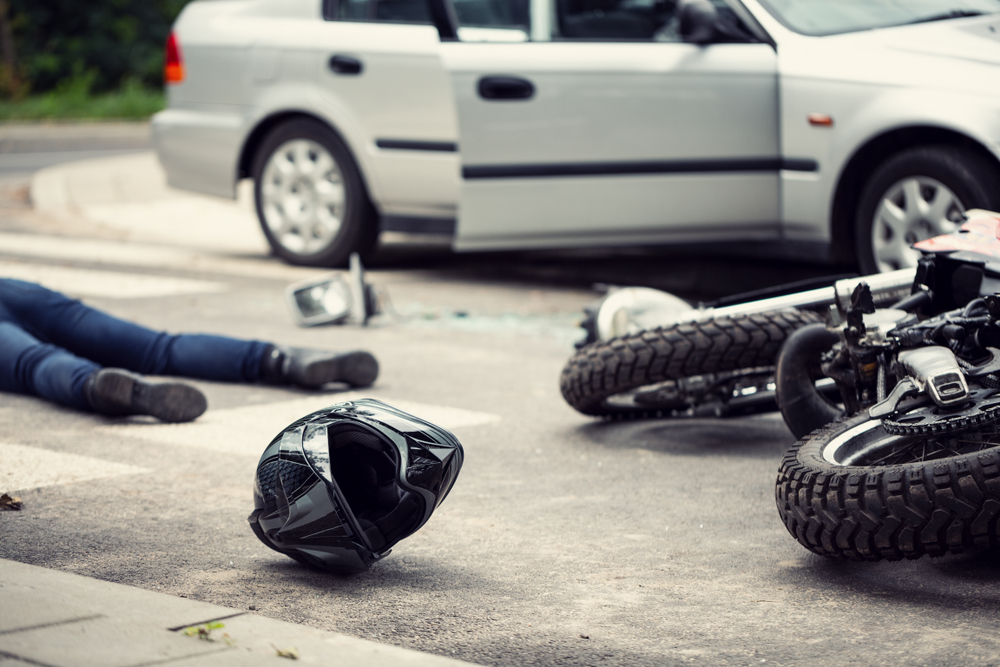 motorcycle accident medical expenses